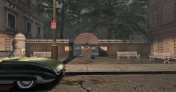 Mad City in Second Life, photo by Tizzy Canucci