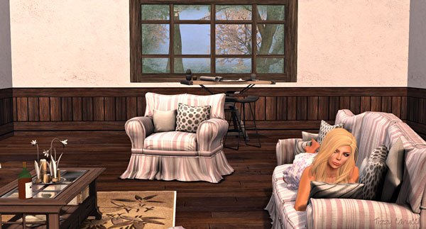 Afternoon Chilling in Second Life, photo by Tizzy Canucci