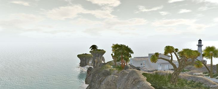 Baja Norte in Second Life, Photo by Tizzy Canucci