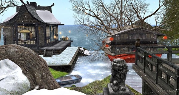Nagare in Second Life, photo by Tizzy Canucci