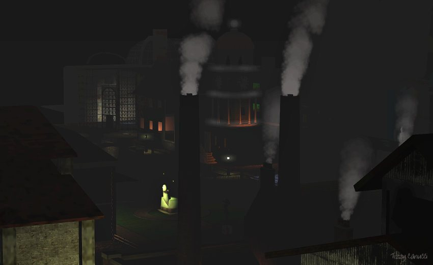 New Babbage: Chimneys by Tizzy Canucci