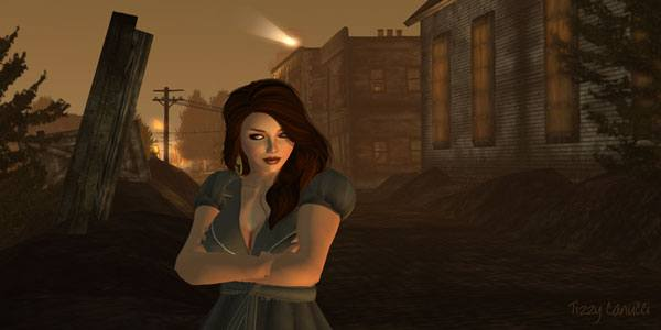 Katja at Innsmouth in Second Life, photo by Tizzy Canucci
