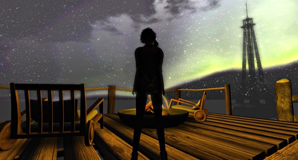 'Aspen Fell: Orange and Lemon', in Second Life, photo by Tizzy Canucci