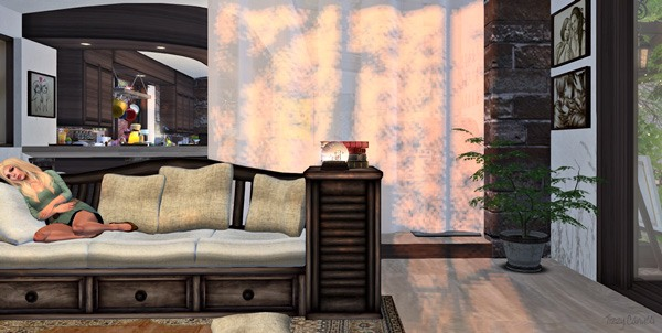 'Cheeky Tiramisu Doze', in Second Life, by Tizzy Canucci
