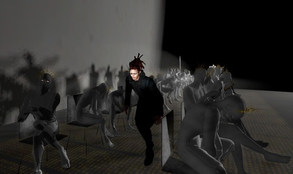 Obedience by Bryn Oh: LEA1 in Second Life, photo by Tizzy Canucci
