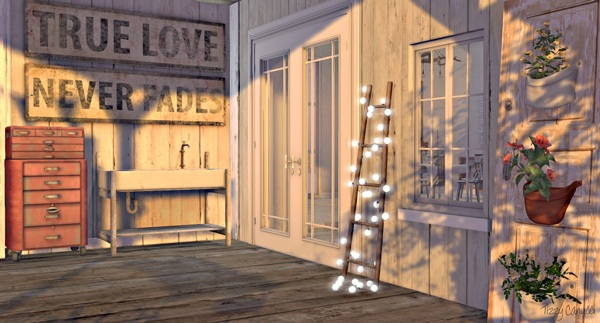 'Porch, on Salt Water', in Second Life, photo by Tizzy Canucci