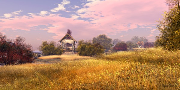 'Salt Water Grasses', in Second Life, photo by Tizzy Canucci