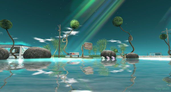 Black Kite in Second Life, photo by Tizzy Canucci