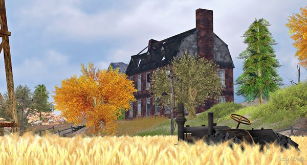 Sand Hills Country in Second Life, by Tizzy Canucci