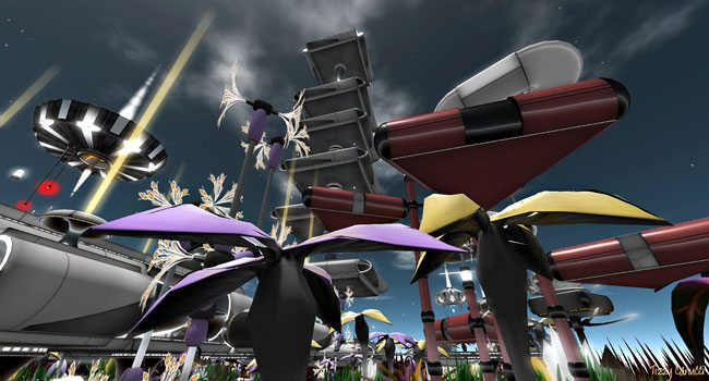 Ascension in Second Life, photo by Tizzy Canucci