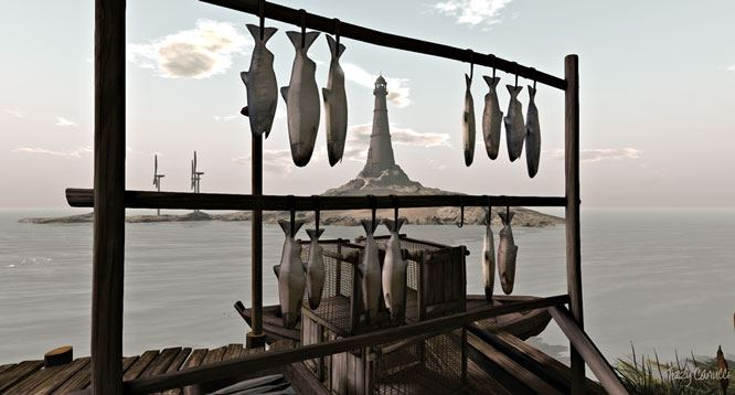 Babys Ear: Drying Fish. Photo by Tizzy Canucci
