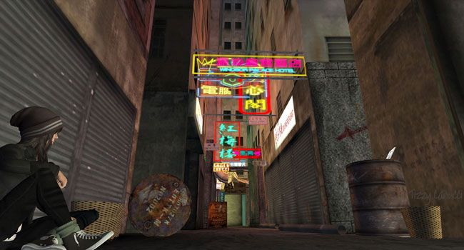 Kowloon in Second Life, photo by Tizzy Canucci