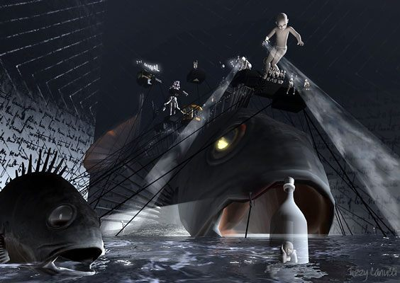 The Arrival by Rose Borchovski in Second Life, photo by Tizzy Canucci