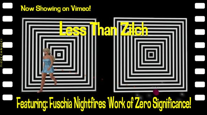 Less than Zilch poster, by Tizzy Canucci