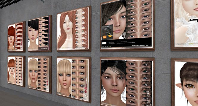 Tokyo.Girl. Asian skins in Second Life. http://maps.secondlife.com/secondlife/Kanojo/61/149/21