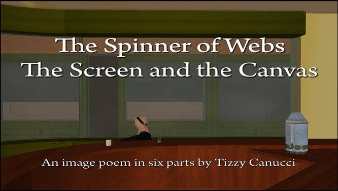 The Spinner of Webs: The Screen and the Canvas, by Tizzy Canucci