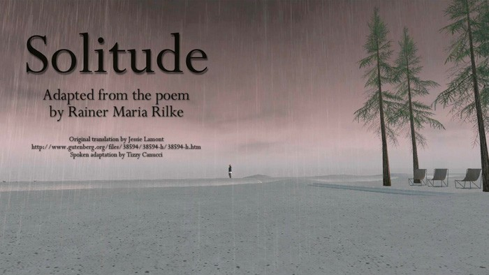 Solitude, a video by Tizzy Canucci on Vimeo