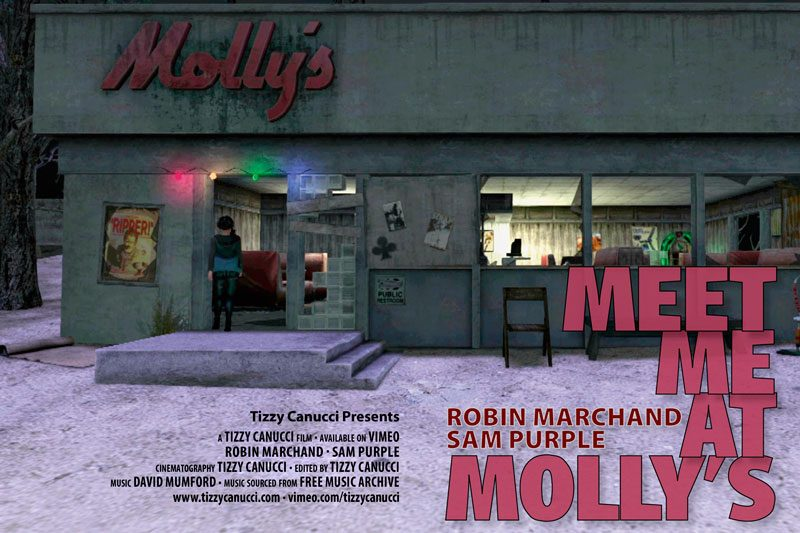 Meet Me At Molly's, a machinima by Tizzy Canucci