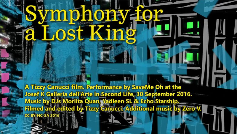 Symphony for a Lost King poster