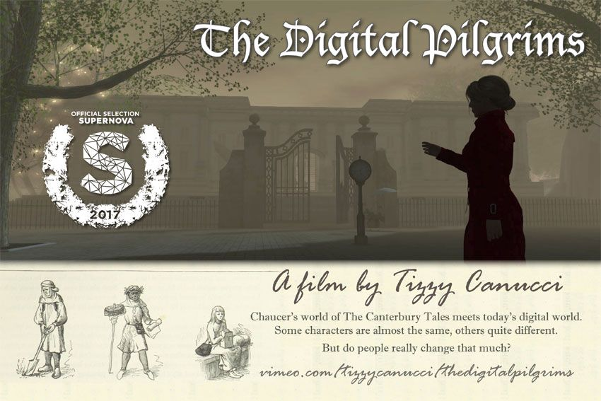 The Digital Pilgrims - Tizzy Canucci