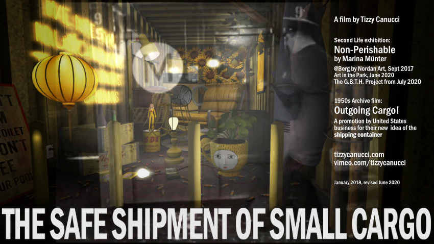 The Safe Shipment of Small Cargo poster