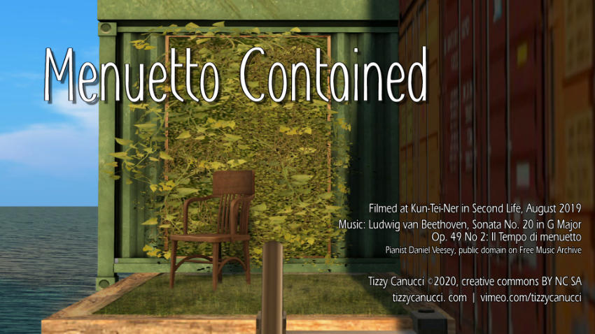 Menuetto Contained poster